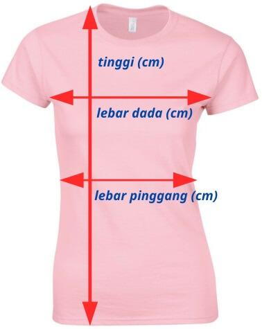 ukuran baju wanita